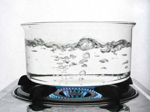 Boiling Tap Water