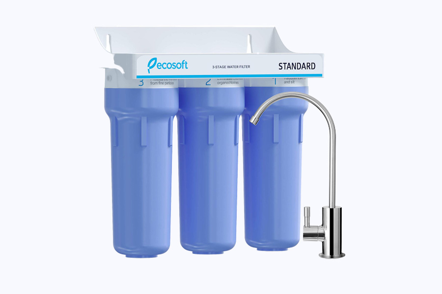Ecosoft 3 Stage Under Sink Water Purifier