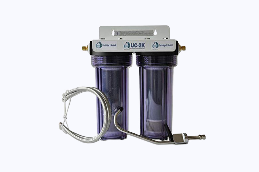 Fluoride + Wide Spectrum Undersink Water Filter