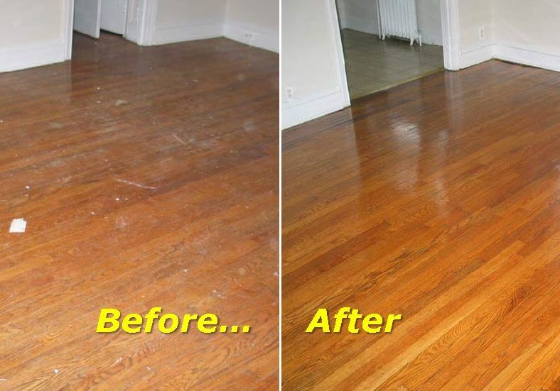 Screening Hardwood Floors