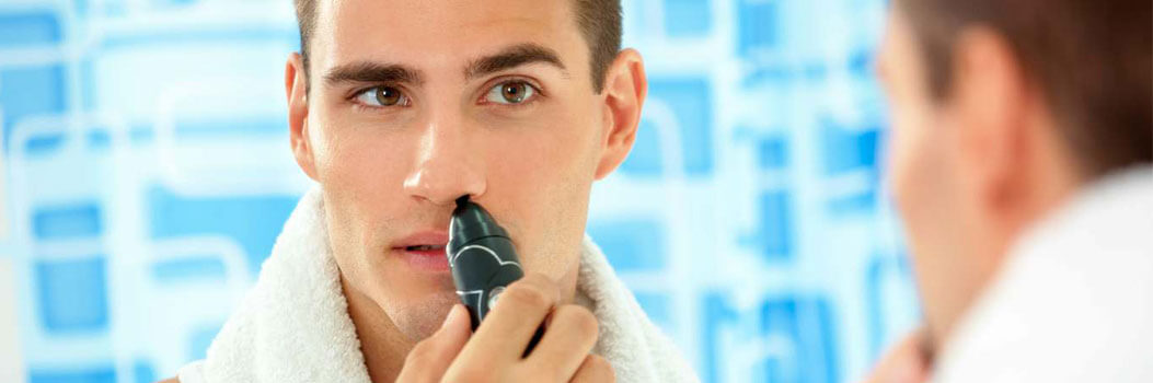 Use Nose Hair Trimmer